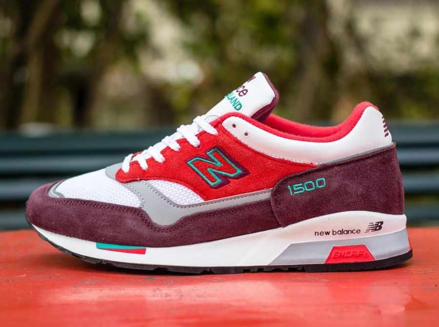 "super popular 8b685 fad37 New Balance 1500 ""Made in England"" – Red – Green"