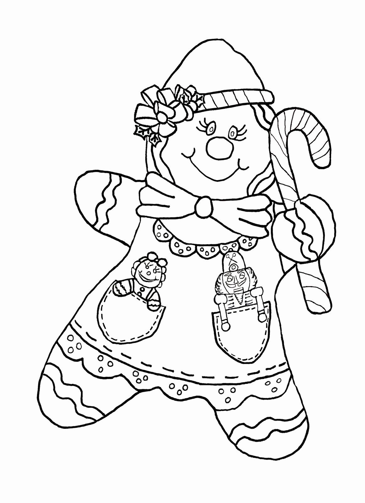 32 Gingerbread Girl Coloring Page In 2020 Coloring Pages