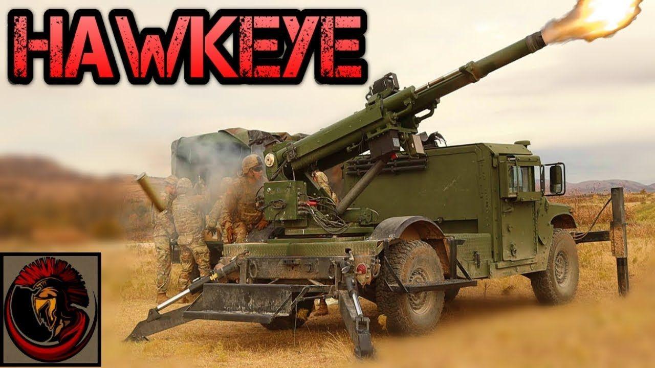 Armorama :: Hawkeye 105mm Howitzer