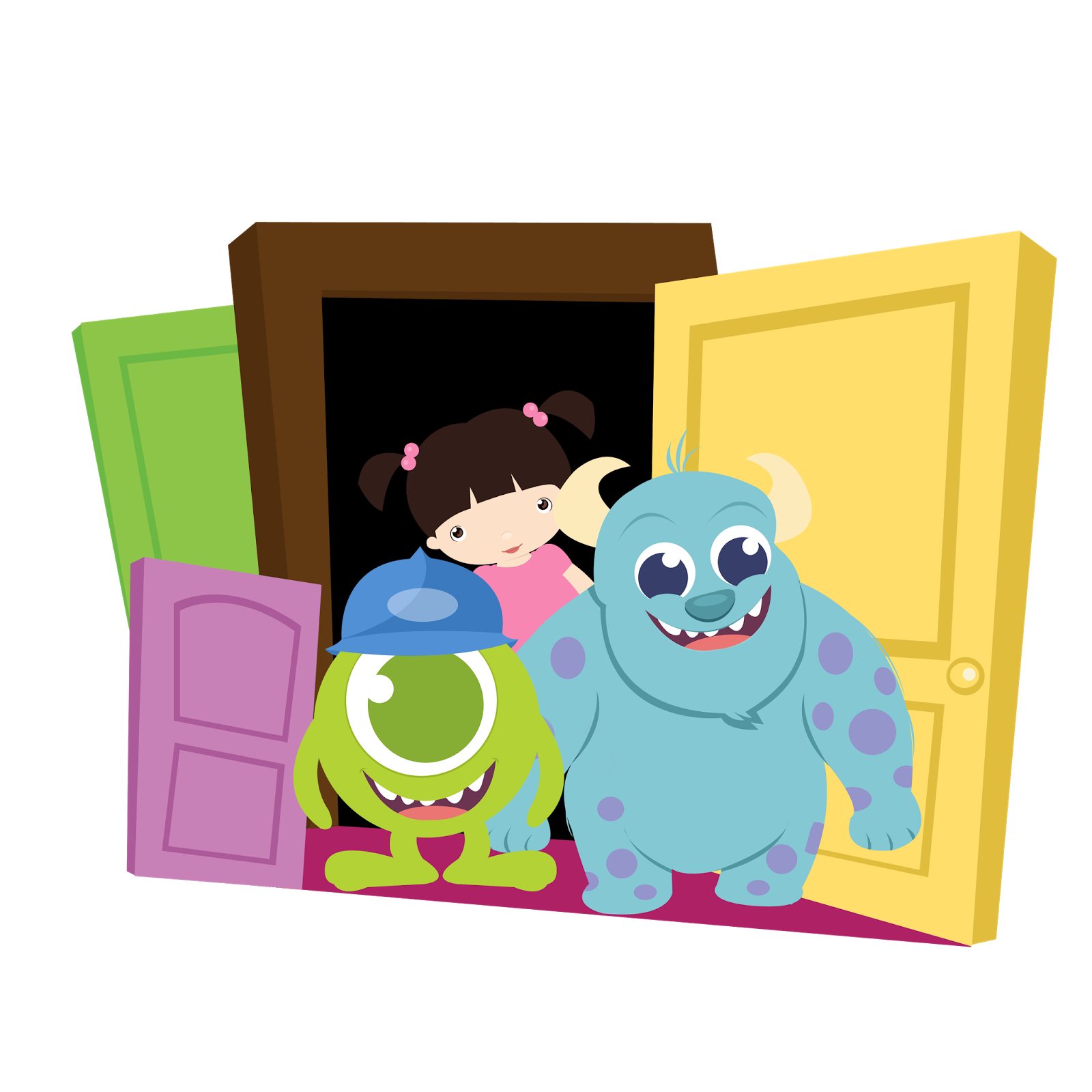 Oh My Baby Monster Inc Babies Clip Art Monsters Inc Baby Monsters Inc Baby Shower Baby Clip Art