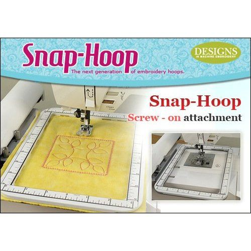 Snap-Hoop For Singer Futura Embroidery machine, CE 100 150 200 250 350 SES2000: Amazon.com: Home & Kitchen