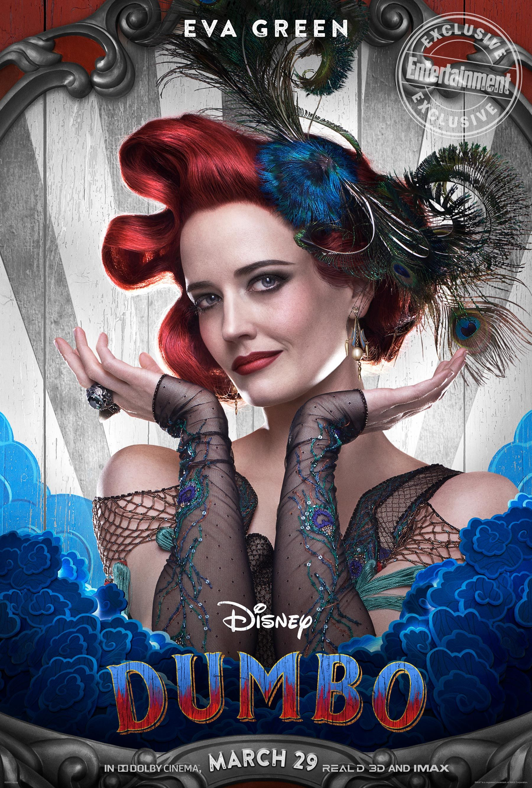 Exclusive Disney Unveils Character Posters For Live Action Dumbo