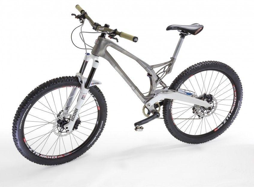 Imprimen por primera vez un marco de bicicleta en 3D con titanio ...