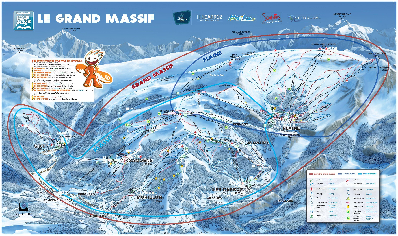 Image result for flaine ski map Piste Maps Pinterest