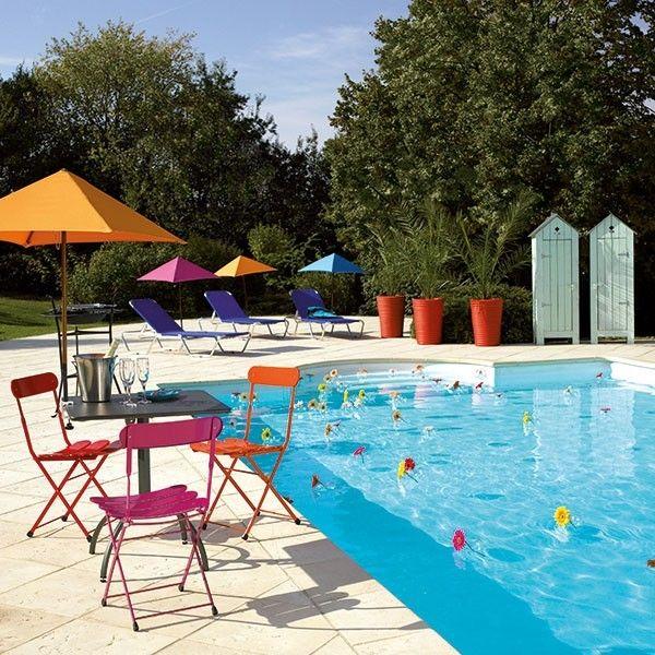 Parasol carré Parasolo #inspiration#déco#exterieur#outdoor#jardin