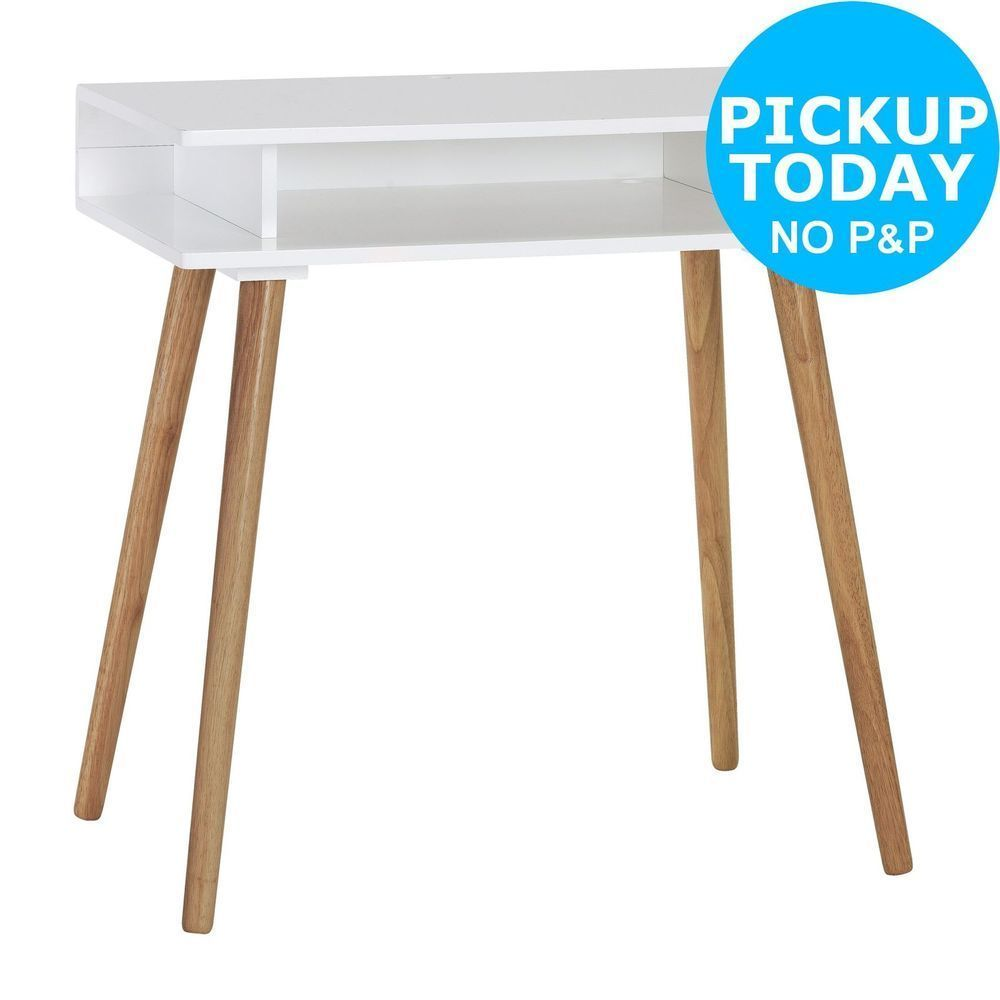 Habitat shelf cato desk white from the argos shop on ebay
