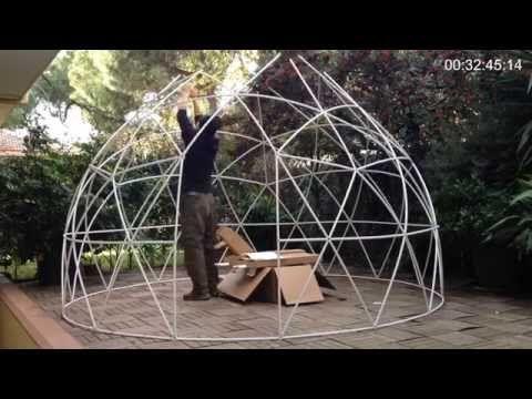 Garden Igloo 360 cool stuff: garden igloo 360 – อิกลูส่วนตัวในสวนหลังบ้าน