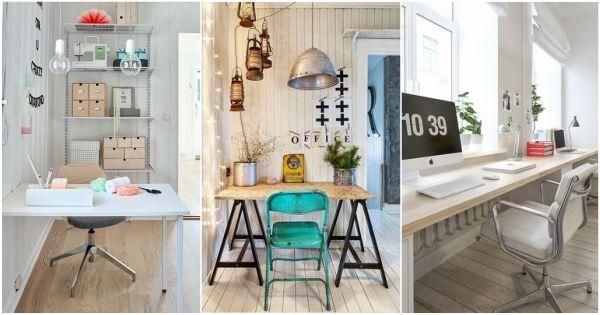 Diferentes estilos para una oficina en casa ideas para for Ideas despacho en casa