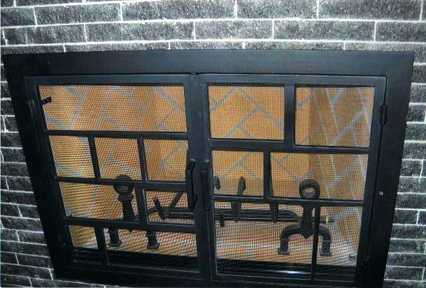 Modern Fireplace Doors By Fireplace Door Guy Modern Fireplace
