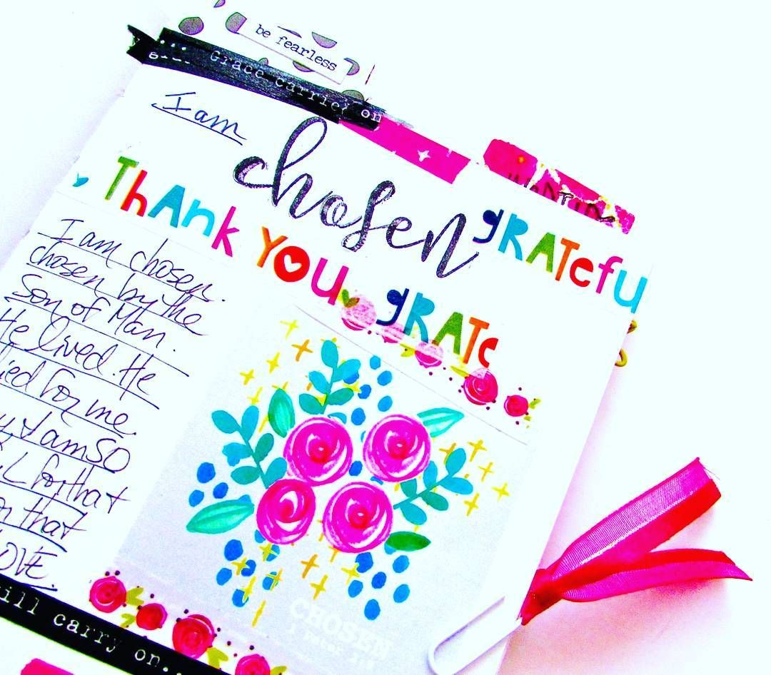 In my journal. Today and every day.. I am chosen. Used the script stamp set from @concordand9th and a free printable by the lovely @valeriewieners More on my blog bonitarose.com  #myfaith #illustratedfaith #faithart #valeriewieners #artjournaling #artjournal #praisebook #bibleart #biblejournal #biblejournaling #biblejournalingcommunity #artworship #faithjournal  Photo 2 http://ift.tt/1KAavV3