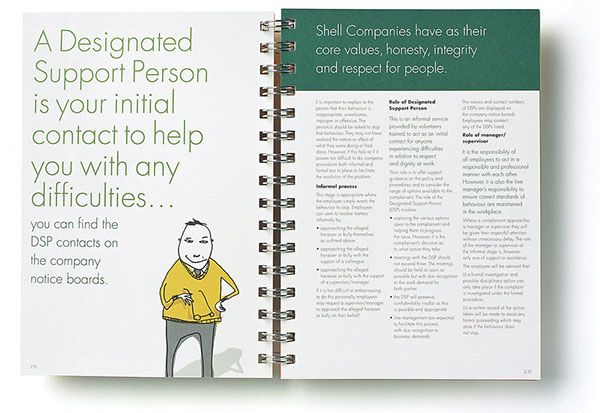 Design by Garrett Reil \ Cliona Geary Illustrations by Sarah - employee manual template