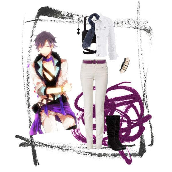 Tokiya Ichinose Casual Cosplay (1000, Concert) by psychometorzi on Polyvore featuring maurices, Armani Jeans, Therapy, Valentino, The 2 Bandits, DESTIN and Giordano Frangipani