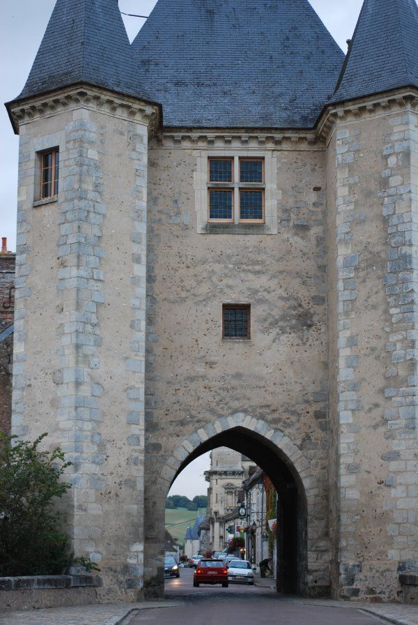 One of the beautiful Burgundy Towns you visit