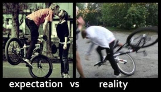 Reality Vs. Expectations Places | Expectations Vs. Reality (40 Photos)