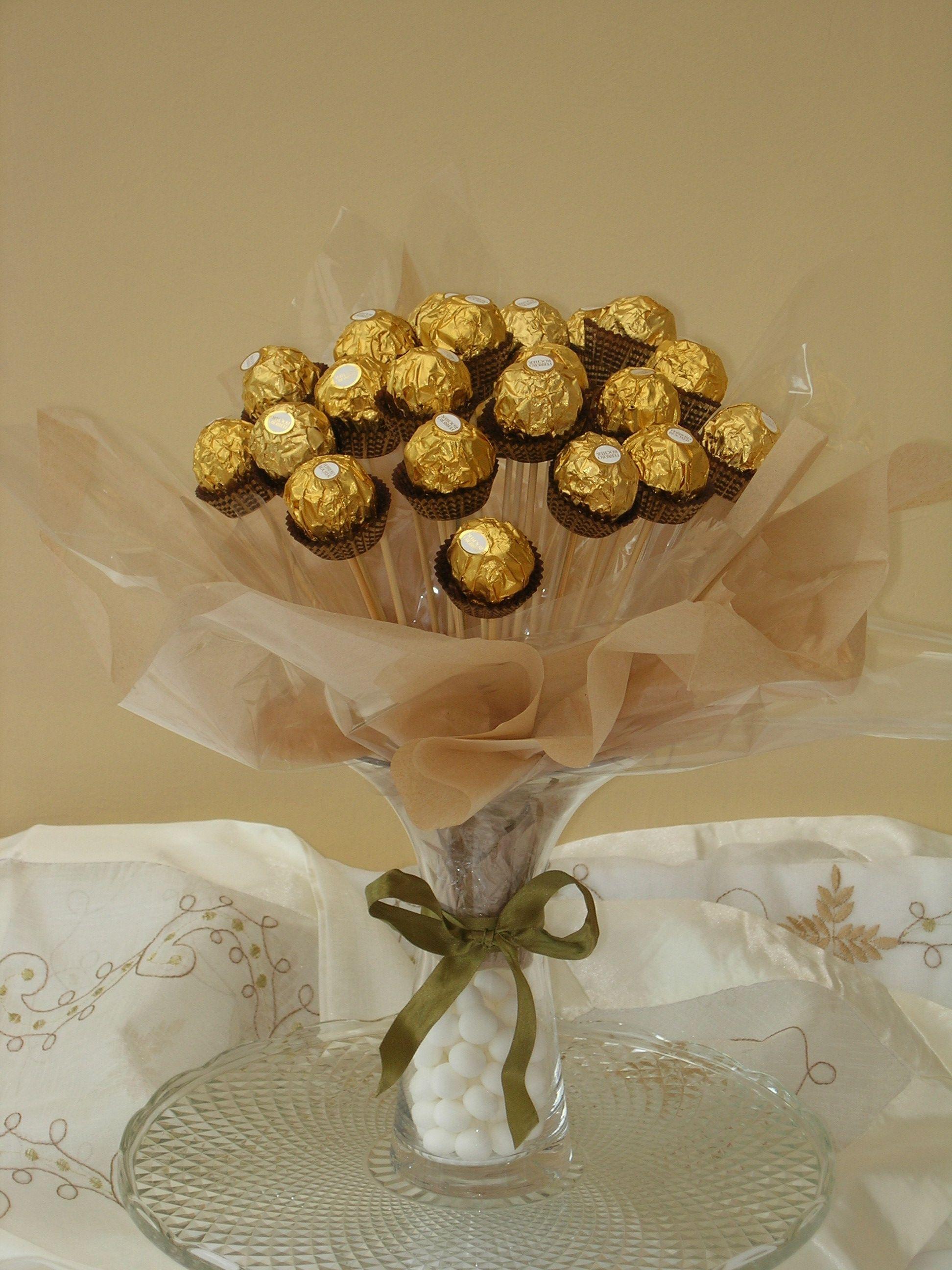 Sweet Tree Chocolate Personalised Gift Ferrero Rocher