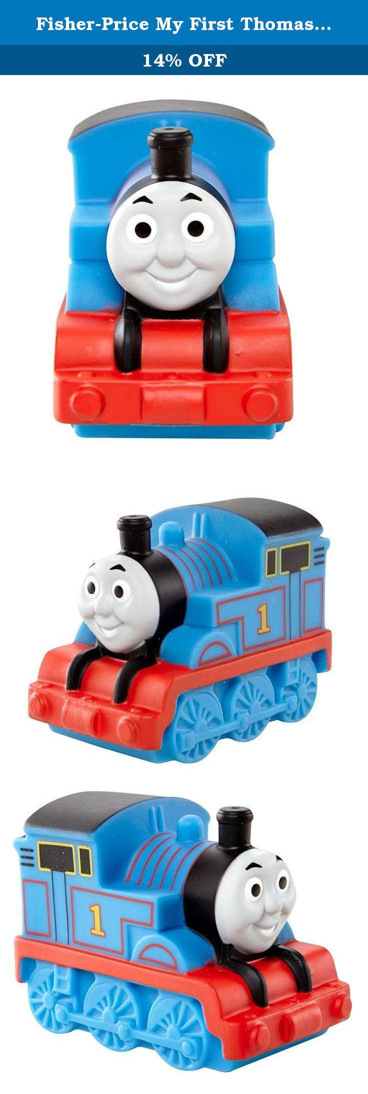 Fisher-Price My First Thomas The Train Thomas Bath Squirter Toy ...