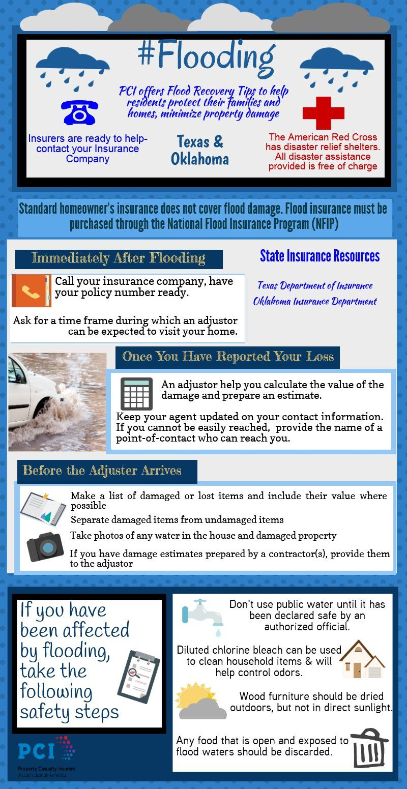 Flooding Texas Oklahoma Piktochart Infographic With Images