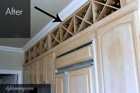 Affordable Kitchen Wine Rack House Kitchen Cabinet Wine Rack