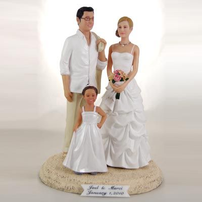 Merveilleux Wedding Cake Toppers Bride And Groom | New Line Of Realistic Custom Wedding  Cake Topper Released