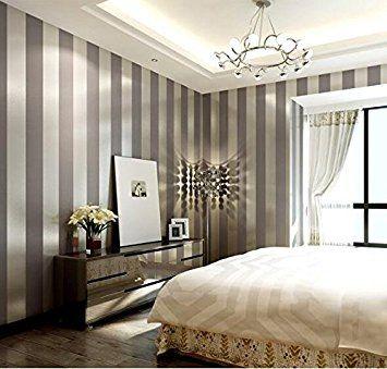 LXPAGTZ Einfache moderne Vlies-Tapete Schlafzimmer Wohnzimmer - moderne tapeten schlafzimmer