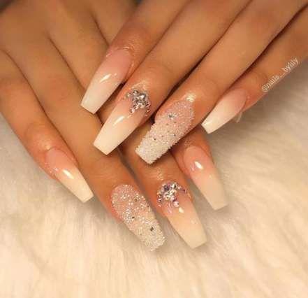 best nails design ombre glitter ideas  ombre nail designs
