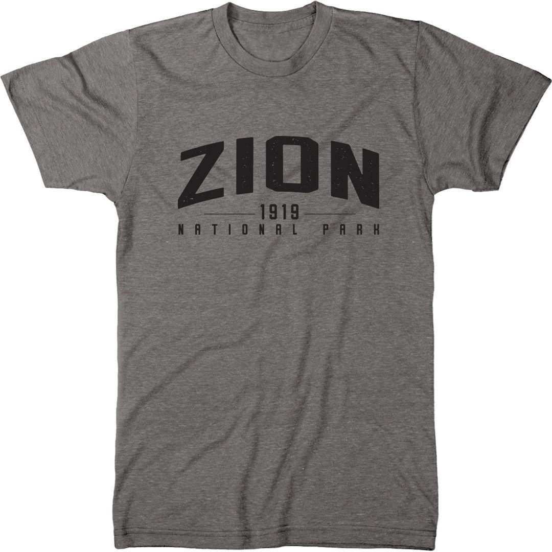 Zion National Park Mens Tri-Blend T-Shirt