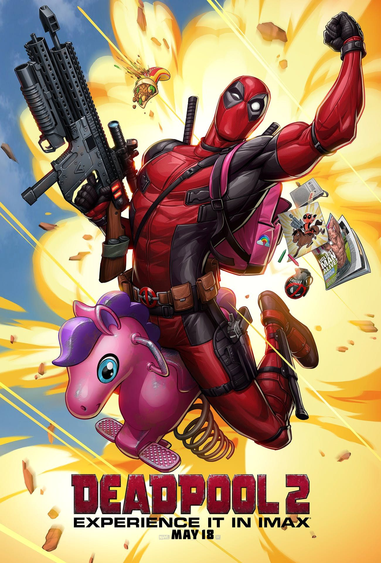 Best Of Deadpool 2 Unofficial Movie Posters Look Incredible Deadpool 2 Poster Superhero Movies Best Of Deadpool