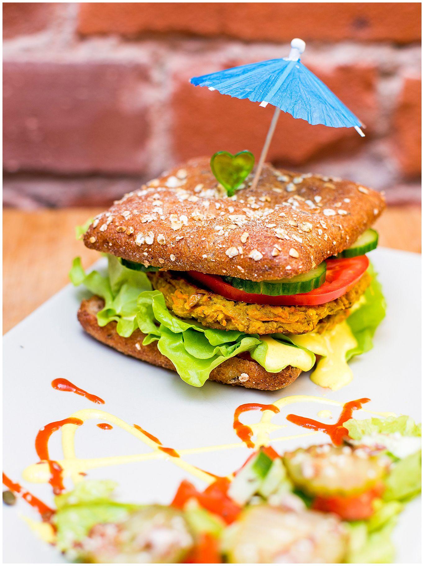 Veggie Burger Vegan Restaurants Health Food Food
