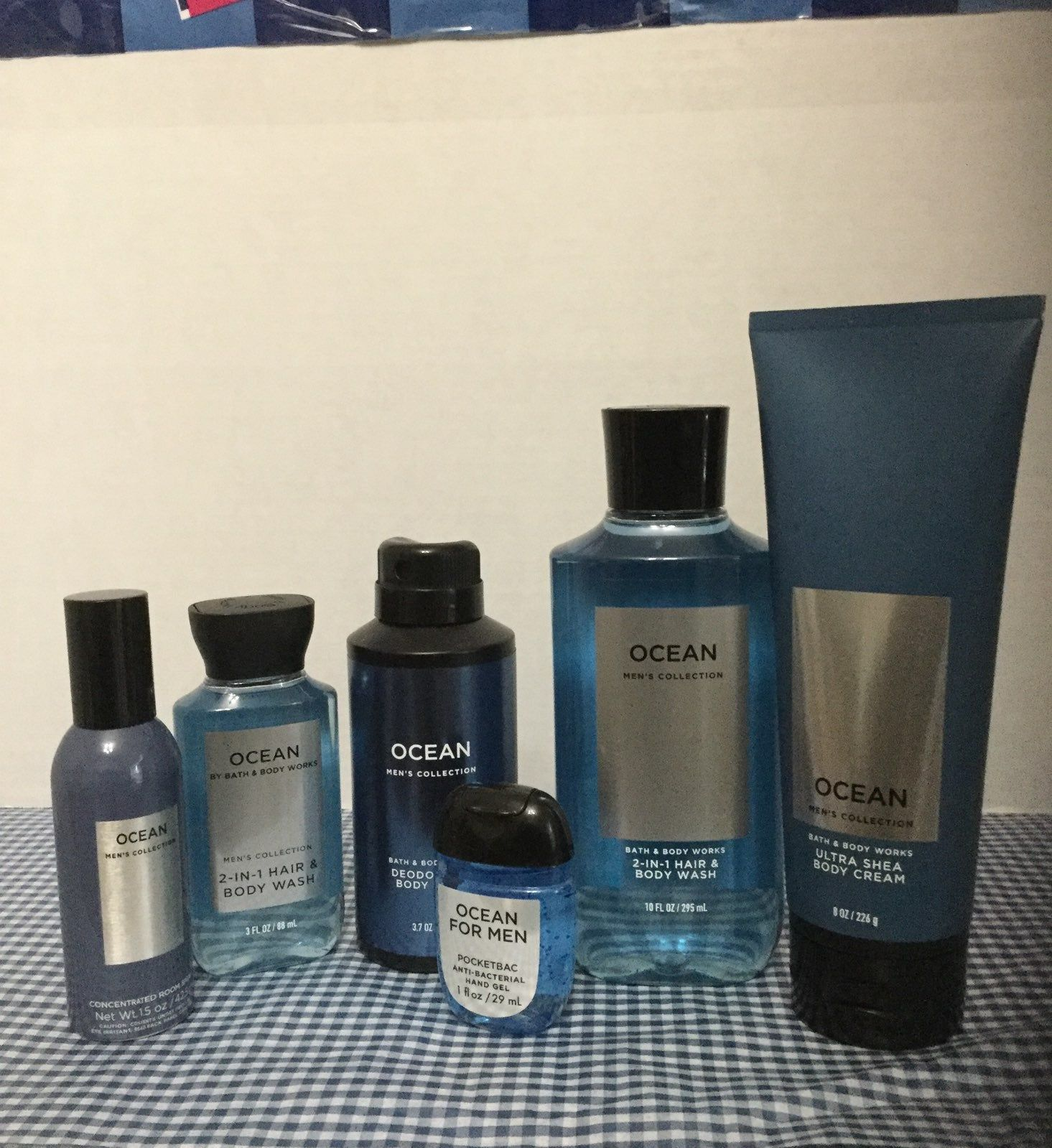 New Bath And Body Works Men S Collection Ocean Bath And Body