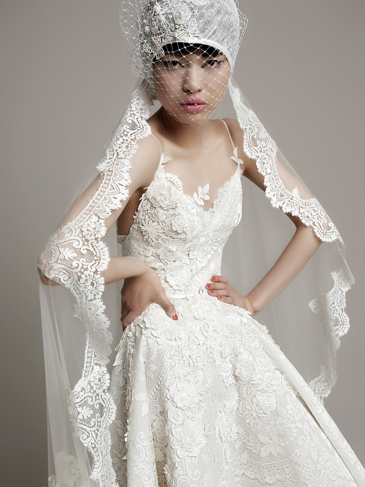Yolancris fashion wedding dresses for modern brides with an unique