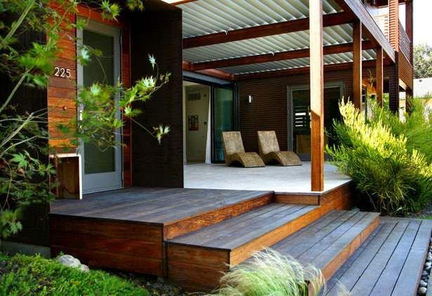 Escaleras casa madera styles pinterest escalera casa for Casa madera jardin
