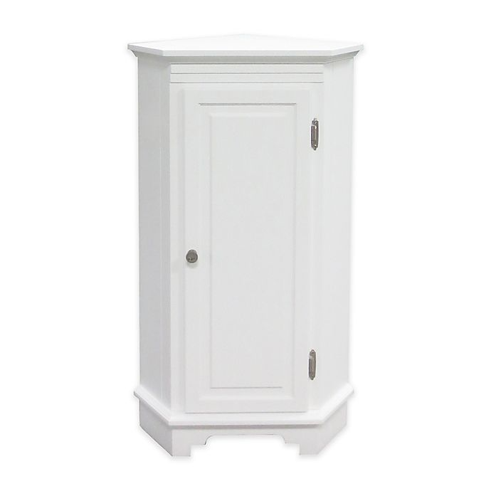 Wakefield No Tools Corner Cabinet Bed Bath Beyond In 2021 Bathroom Corner Cabinet Adjustable Shelf Storage Bath Furniture