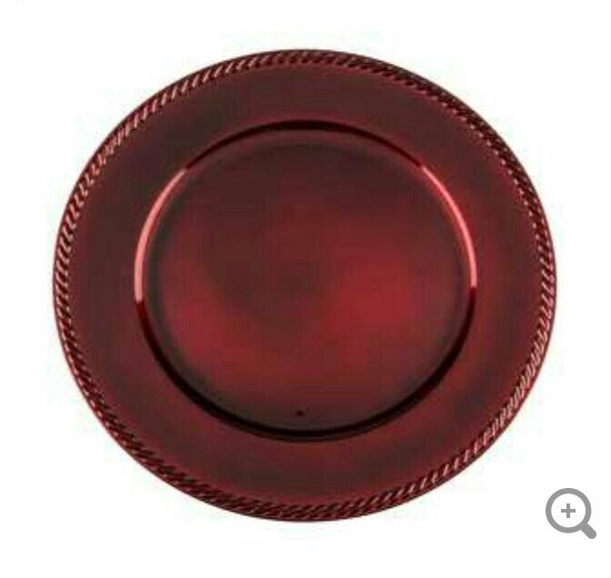 13  Red Plastic Plate Charger  sc 1 st  Pinterest & 13