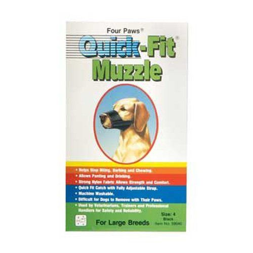 Quick Fit Muzzle Size 4 Check Out This Great Image Dog Muzzle Muzzle Senior Dog Food Recipes
