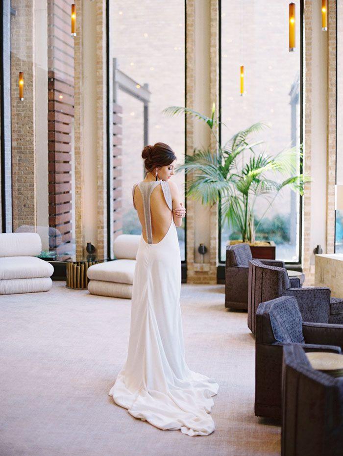 Bold Fall Inspiration Shoot Amanda Wakeley Cressida Gown