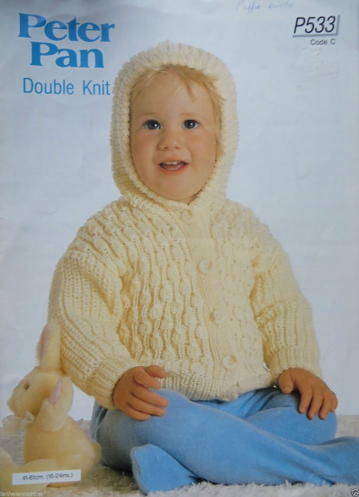 ac546ece6 Wendy knitting pattern leaflet Peter Pan Double Knit P533
