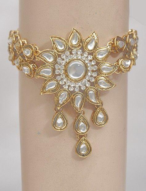 Kundan Bajuband Jewellery Online Shopping Indian gold jewelry