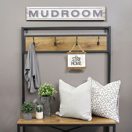 Stratton Home Decor Mudroom Wall Sign Products In 2019 Home Decor Country Wall Decor Decor