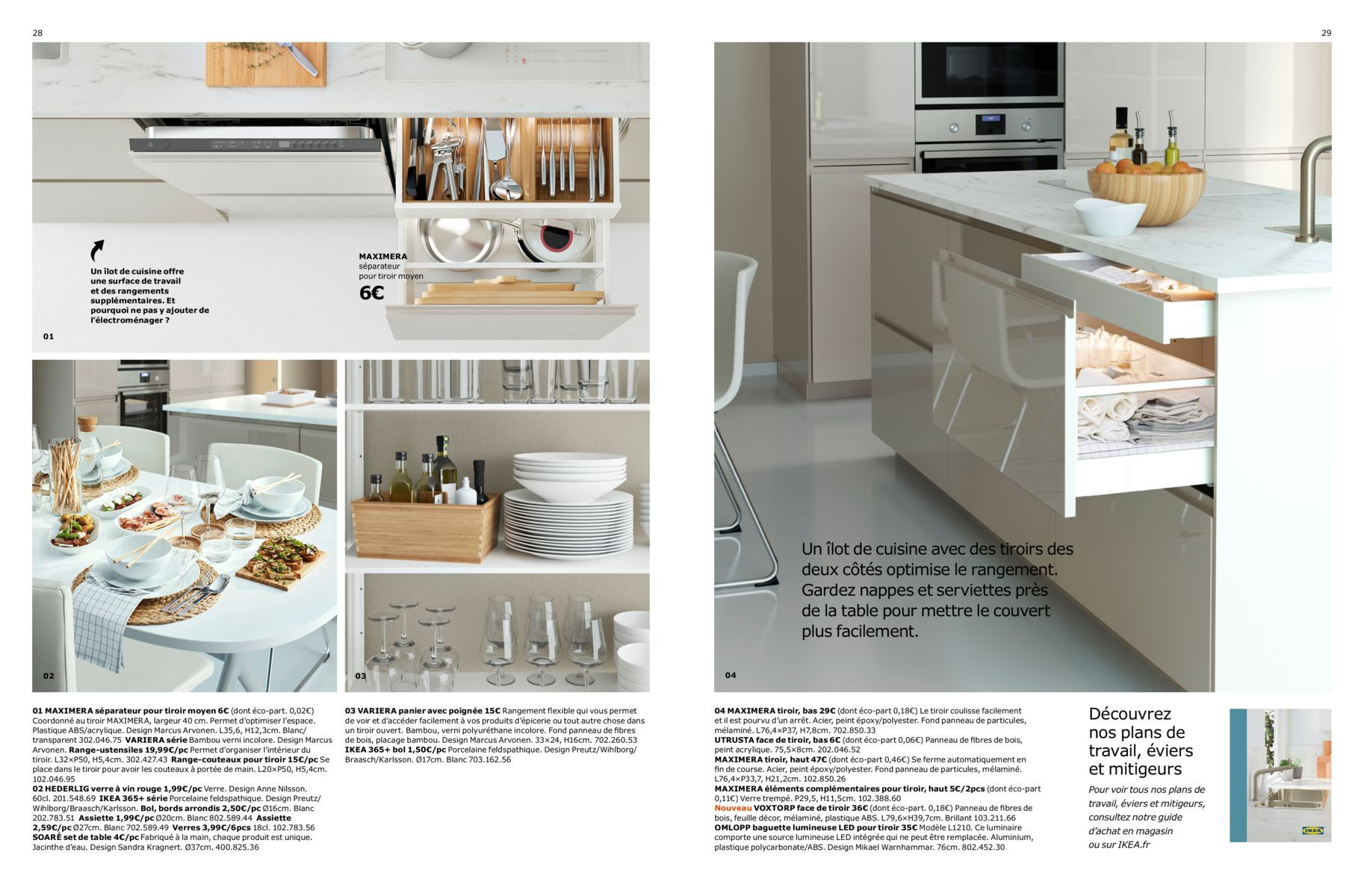 Brochure Cuisines Ikea 2017 Catalogo Cocinas Cajones Cocina Islas De Cocina