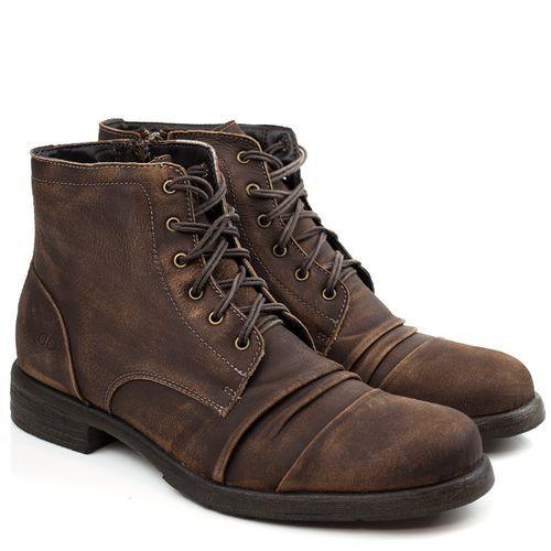 c2afb3014 Bota Democrata Harbor Tabaco - Compre Online - Black Boots | Fashion ...