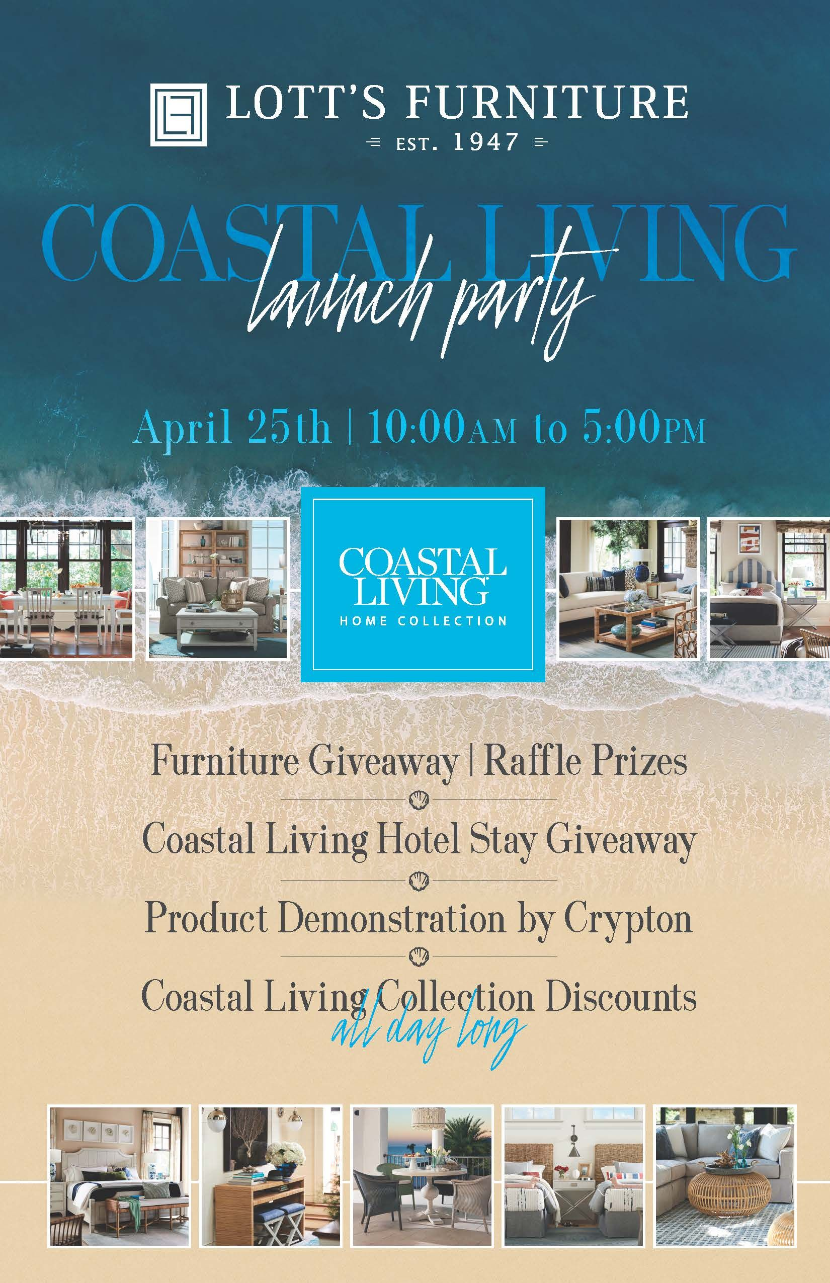 Chamber Of Commerce Amelia Island Fernandina Beach And Yulee Lott S Furniture Announces Coastal Living Event At Showroom