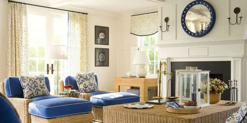 Idee per arredare casa in estate - Arredamento in stile marino