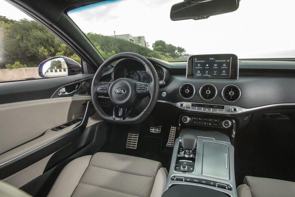 Kia Stinger Interior Kia Stinger Kia Gran Coupe