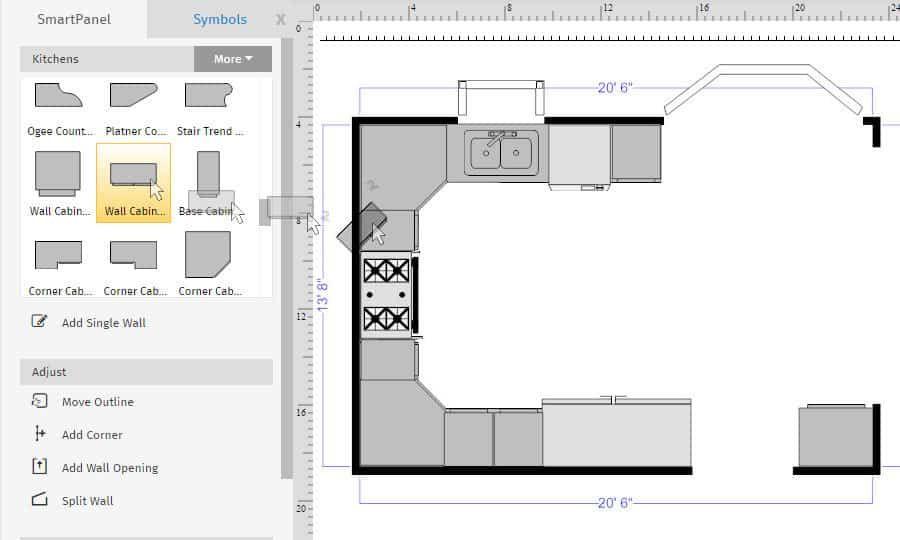 Best Of Simple 2d Floor Plan Software For Mac And Description Kitchen Floor Plans Floor Plan Design Home Design Floor Plans