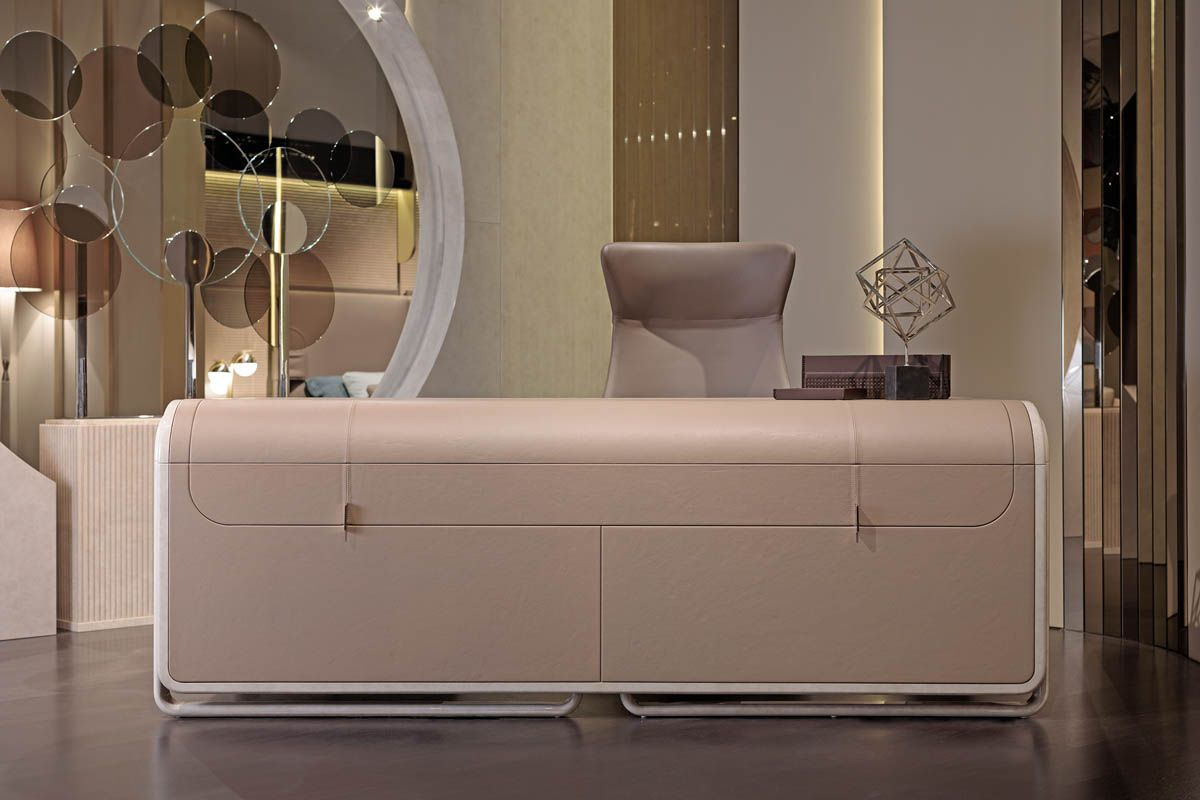 The spruce / danielle holstein the best way to clean leather furniture is to do it gently. Eclipse desk   TURRI   Made in Italy furniture   Luxury ...