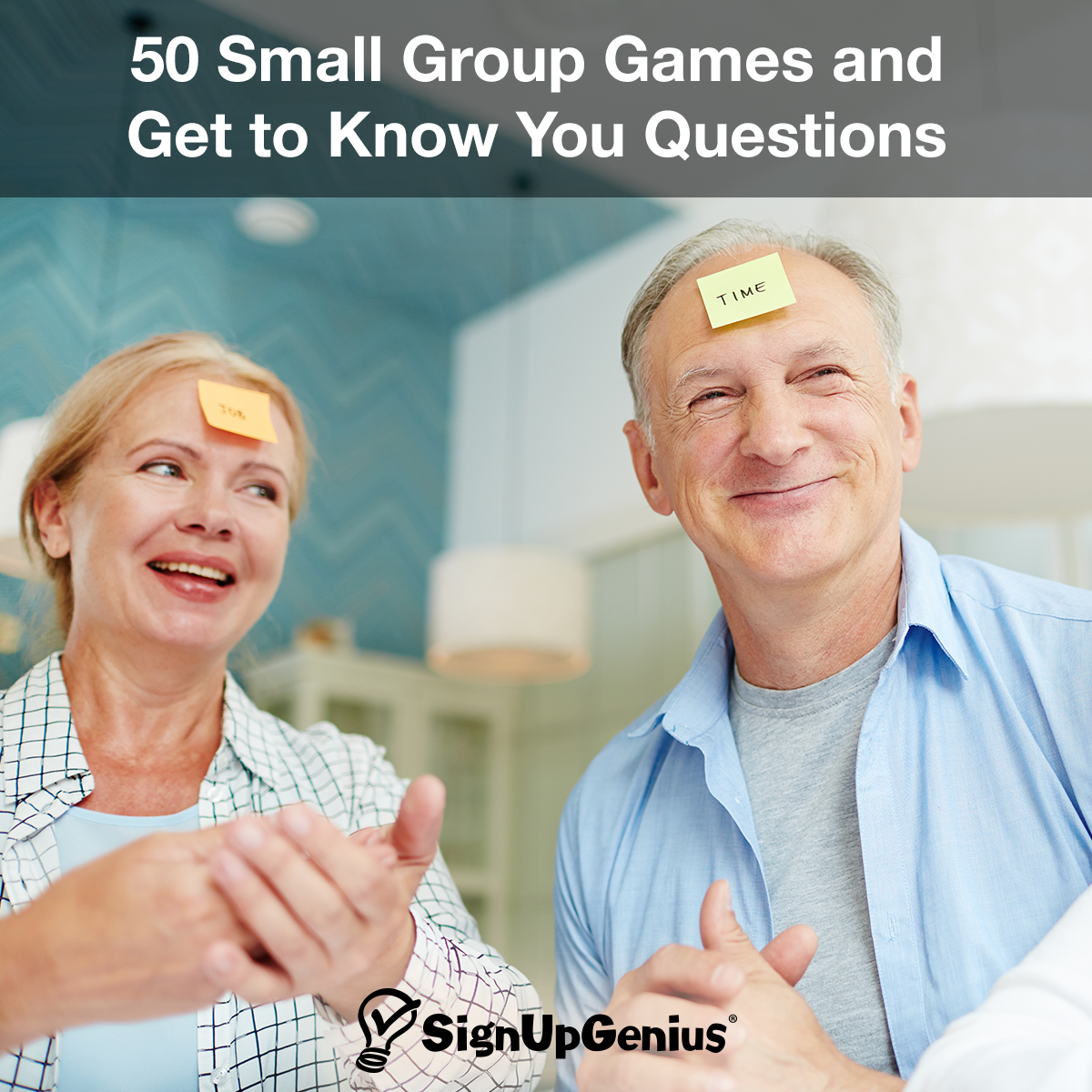 50 Small Group Games and Get to Know You Questions. Build community in your  church small group with these fun games and activities.