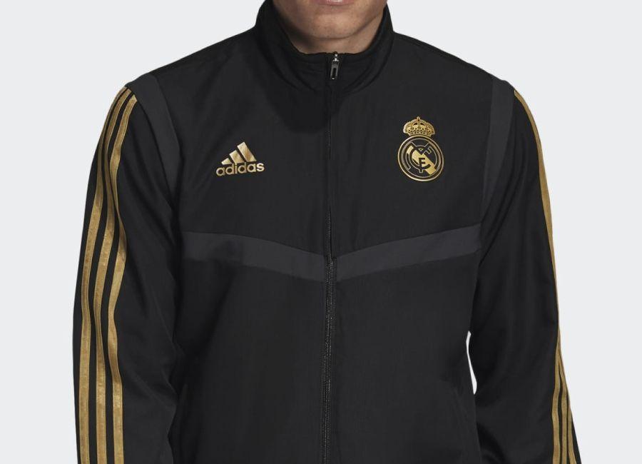 Adidas 2019 Real Madrid Presentation Track Top Black