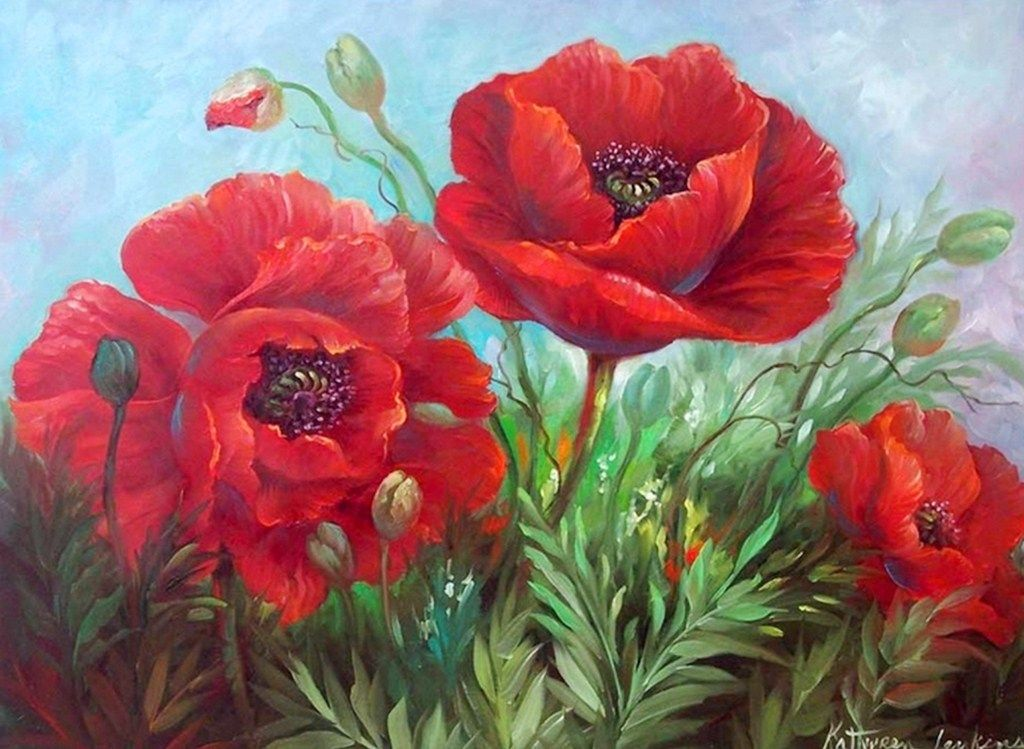 fotos de flores   El Cuadro De Flores Para Que Decores Tu Hogar U Oficina   Pinturas De ...