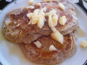 Apple Pancakes - Live a Sweet Life