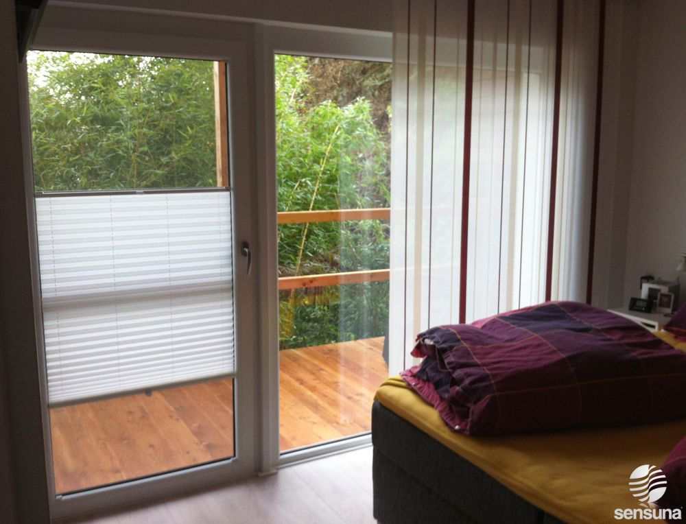 Auch Fur Breite Fenster Und Turen Geeignet Plissees Als
